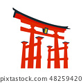 Miyajima Torii 48259420