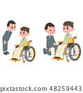 일본 유니버설 매너 협회 감수 소재 + 휠체어 접객 48259443