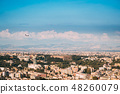 Naples, Italy. Plane Flying Cityscape 48260079
