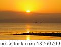 아리아케 해의 아침 풍경 16 48260709