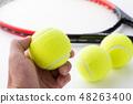 테니스 공 48263400