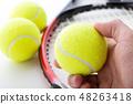 테니스 공 48263418