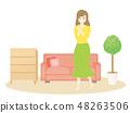 Interior female room 48263506