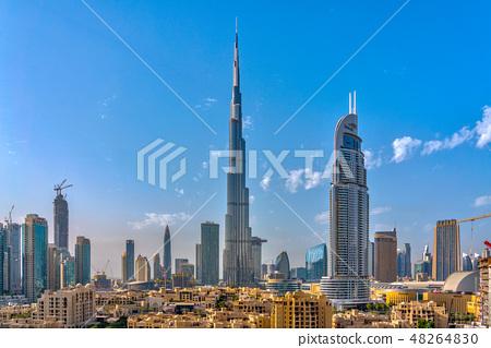 迪拜城市景觀 48264830