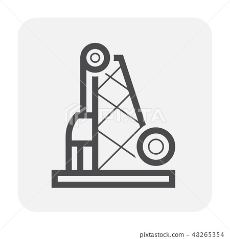 pile driving icon 48265354