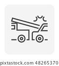 car accident icon 48265370