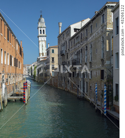 Leaning Campanile - Venice - Italy 48266122