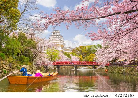Himeji Castle, Japan in Spring 48272367
