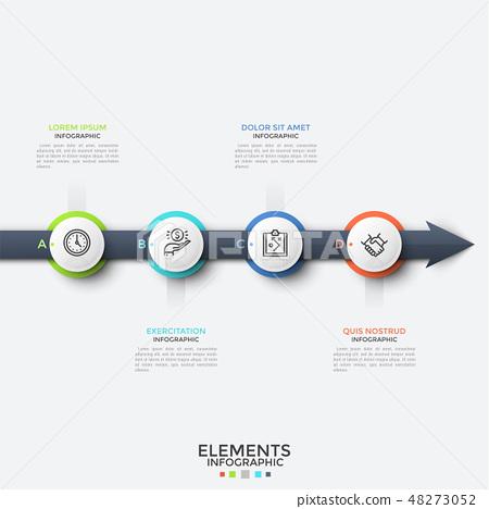 Modern infographic design template 48273052
