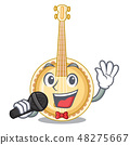 Singing banjo was isolated from the character 48275667