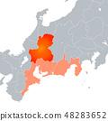 岐阜縣地圖和東海地區 48283652