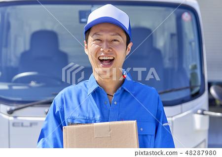 業務現場送貨司機 48287980