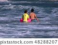 해수욕 여름이다 ~ 48288207