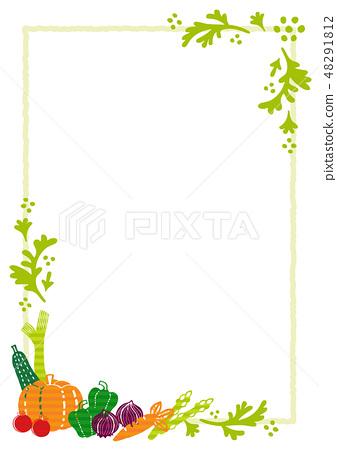 蔬菜框架 48291812