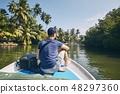 Boat trip in Sri Lanka 48297360