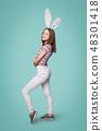 girl, bunny, female 48301418