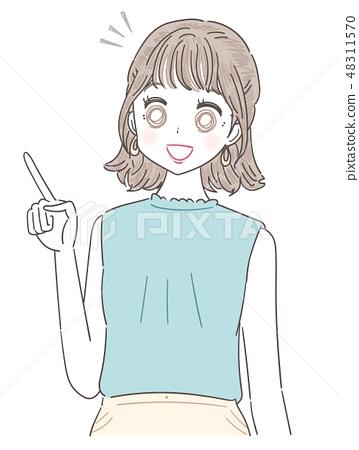 小姐女孩夏天衣裳 48311570