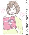一個年輕女人的禮物 48311572