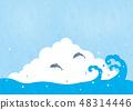 컷 - 여름 소재 16 테크닉 48314446