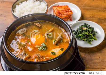 韓國料理典型的韓國美食 48316168