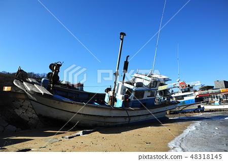 항구,바다,정박 48318145