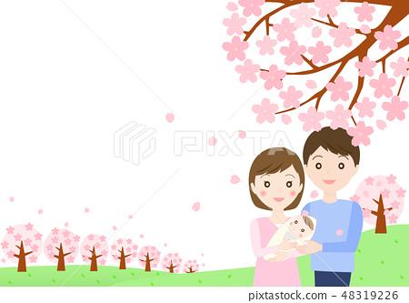 꽃놀이 온 가족 48319226