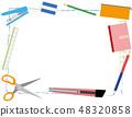 필기구 프레임 Writing utensil frame 48320858