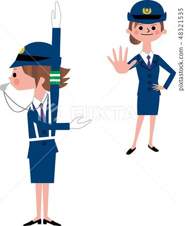 一位女警官 48321535