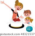 媽媽的手工製作的蛋糕 48321537