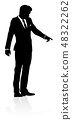 People Business Silhouettes 48322262
