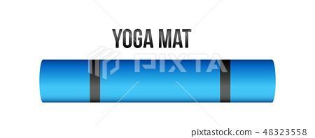 Creative Vector Illustration Of Half Rolled Stock Illustration 48323558 Pixta