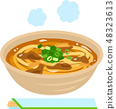 Curry udon 48323613