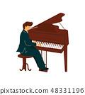 钢琴 音乐家 表演 48331196