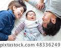 家庭照片睡覺姿勢 48336249