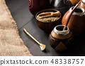 yerba mate drink concept photo 48338757