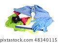 Multicolored scouring sponges, cleaning cloths 48340115