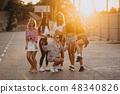 parking, sunglasses, friends 48340826