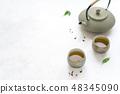 茶 杯子 杯 48345090