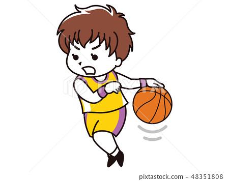 一名籃球運動員的女人 48351808