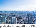 도쿄 도시 풍경 48355996