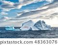 Iceberg in Antarctica sea 48363076