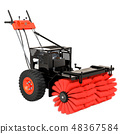 Snow Sweeper Power Brush Broom Industrial 48367584