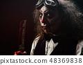 Portrait of a sadistic clown 48369838