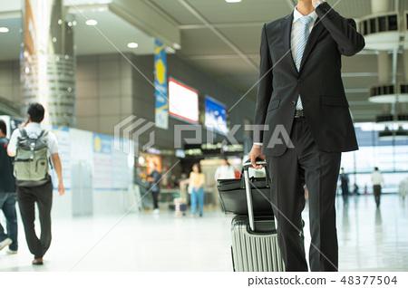 商人商務旅行企業圖像 48377504