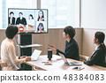 Business net meeting 48384083