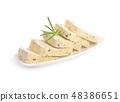 Tofu with Herbes de Provence. 48386651