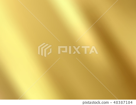 Gold satin and silk cloth fabric crease background 48387184