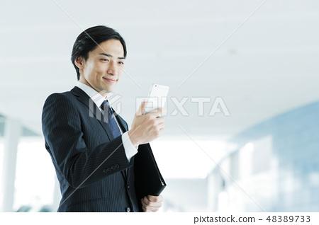 비즈니스 사무실 사업가 미들 경력 남성 48389733