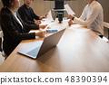 การประชุมทางธุรกิจ 48390394