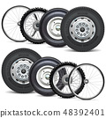 Vector Vehicle Wheels Double Set 48392401